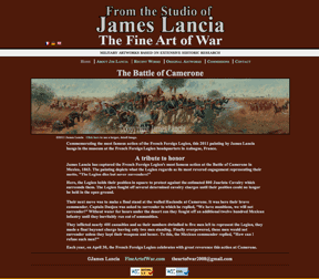 Design for Fine Art of War by James Lancia