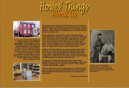 Howes' Things About page