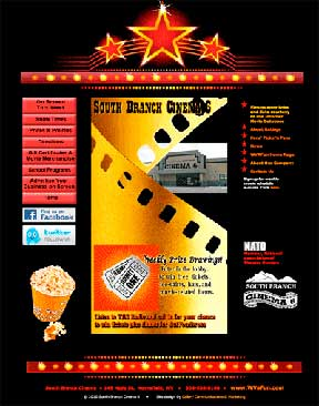 South Branch Cinema 6 Home page