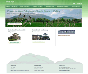 South Branch Inns' Home page